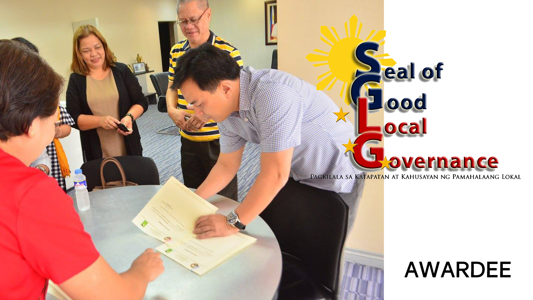 SGLG CALAMBA, Itinanghal Bilang 2017 SEAL OF GOOD LOCAL GOVERNANCE AWARDEE